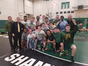 Coloma's District Championship Wrestling Team