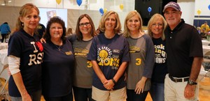 Group of seven teachers who have been at Rock Springs since it opened