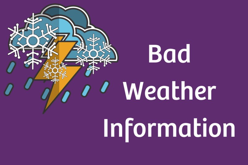 Bad Weather Information