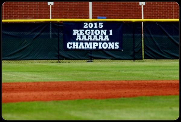 2015 Region 1 AAAAAA Champions Banner