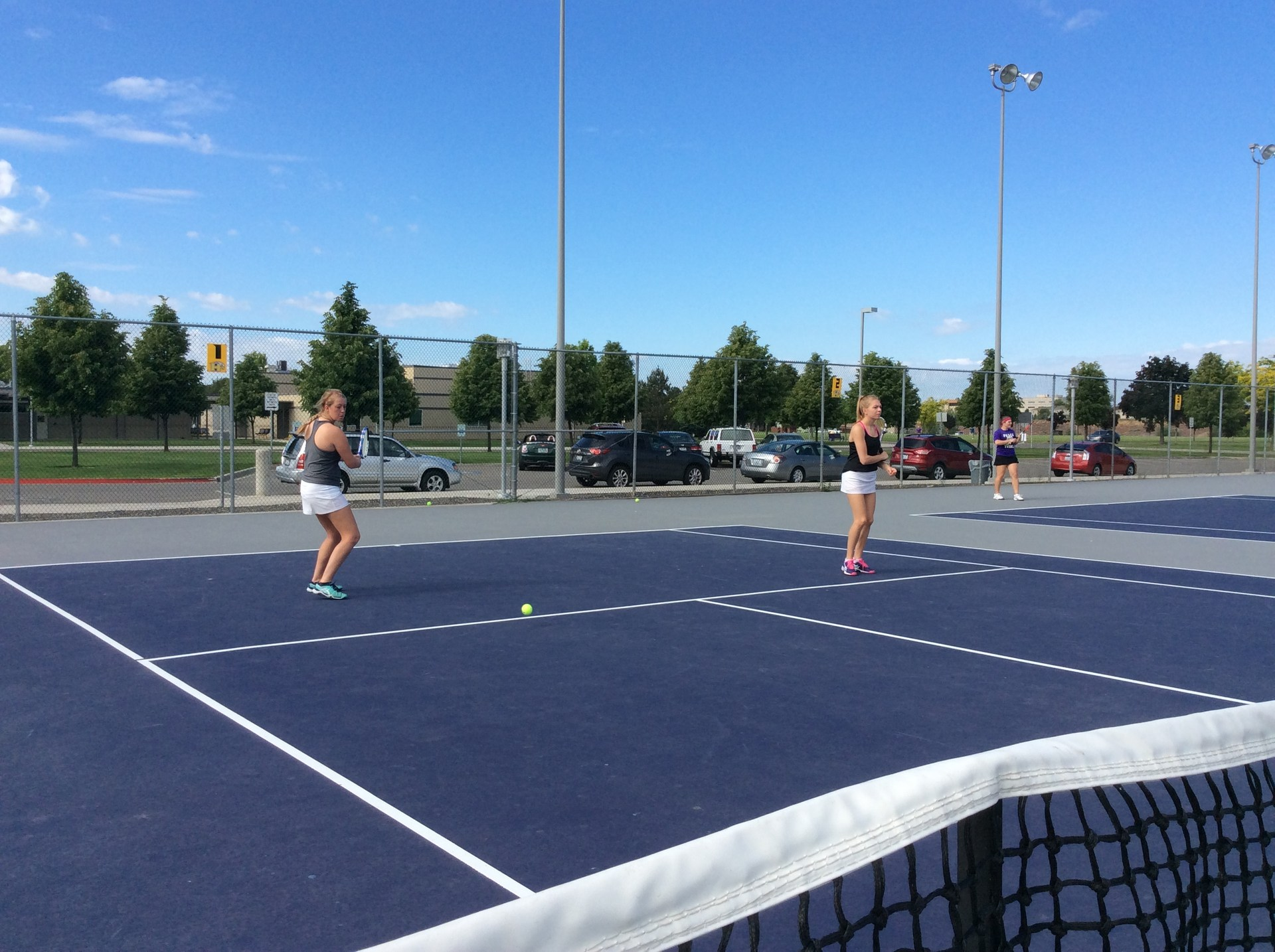 Girls DBL Tennis