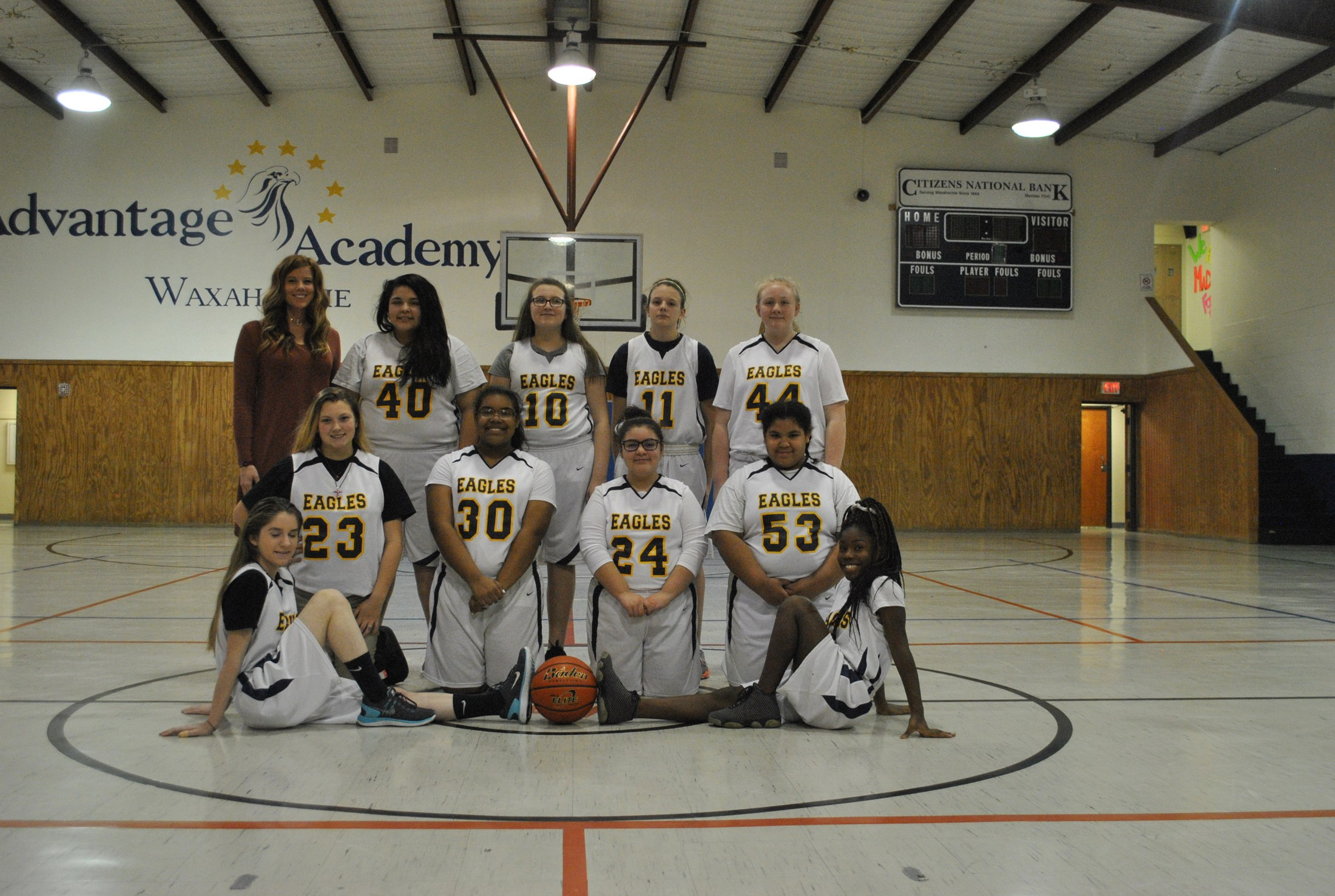 Advantage Academy Women's Basketball Team