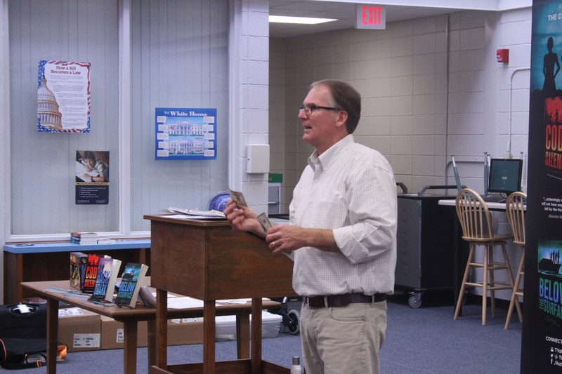 Author Visit - Tim Shoemaker Featured Photo