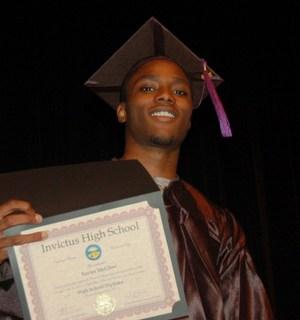New graduates at Invictus High School Cleveland