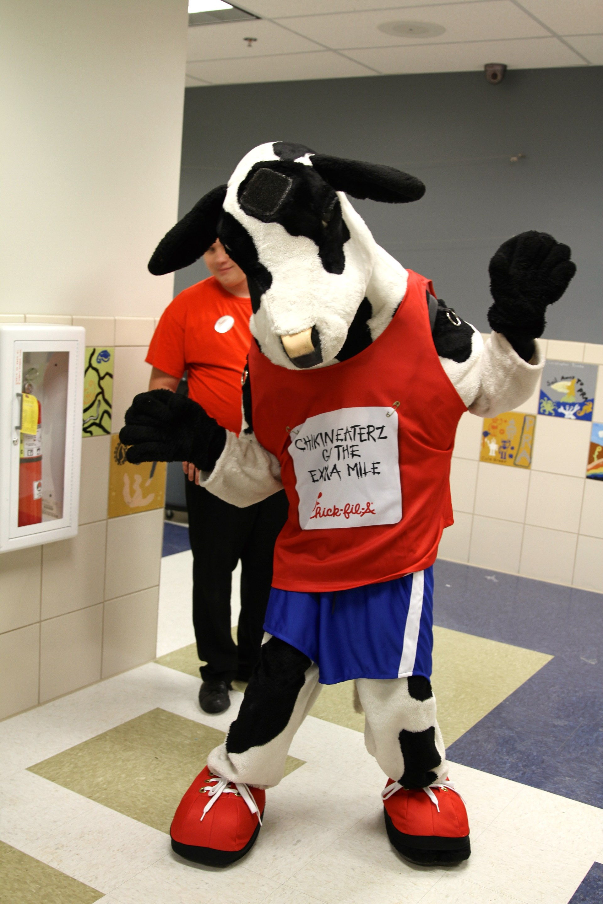 Chick-Fil-A Cow dancing