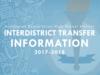 Interdistrict Transfer Information graphic.