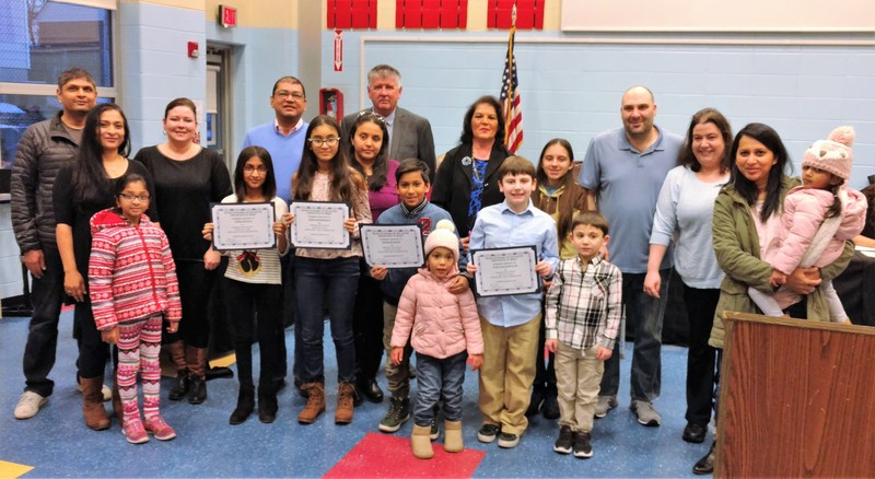 Board of Education Honors Huber Street School Geography Bee Winners Thumbnail Image
