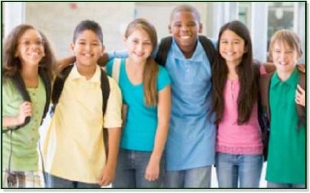 photo of school kids