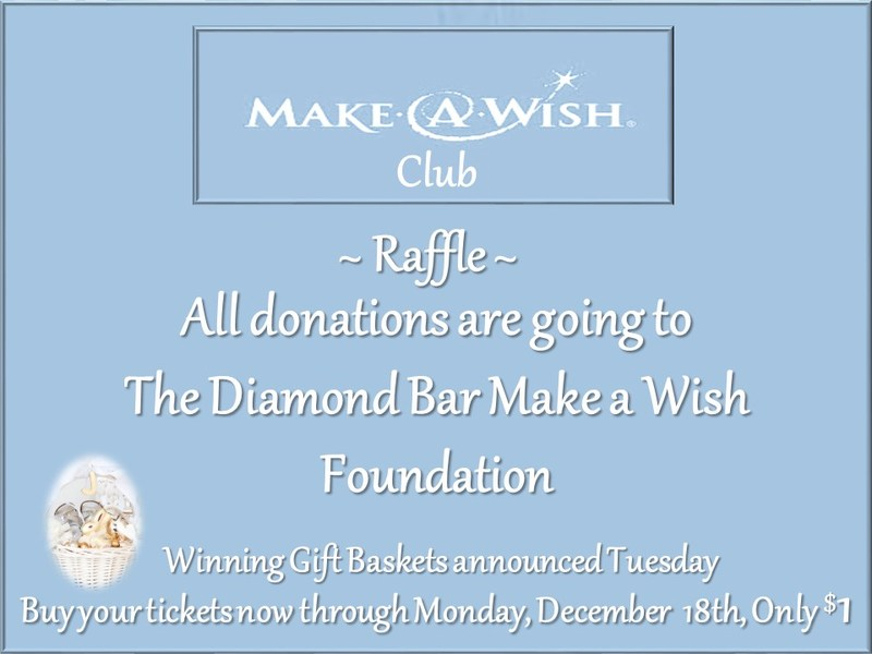Make A Wish Club Raffle Fundraiser Featured Photo