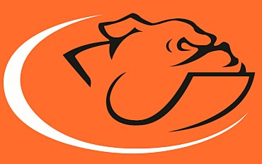 bulldog cross country logo