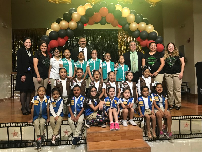 Mozart Girl Scout Troop celebrated their awards banquet. Featured Photo