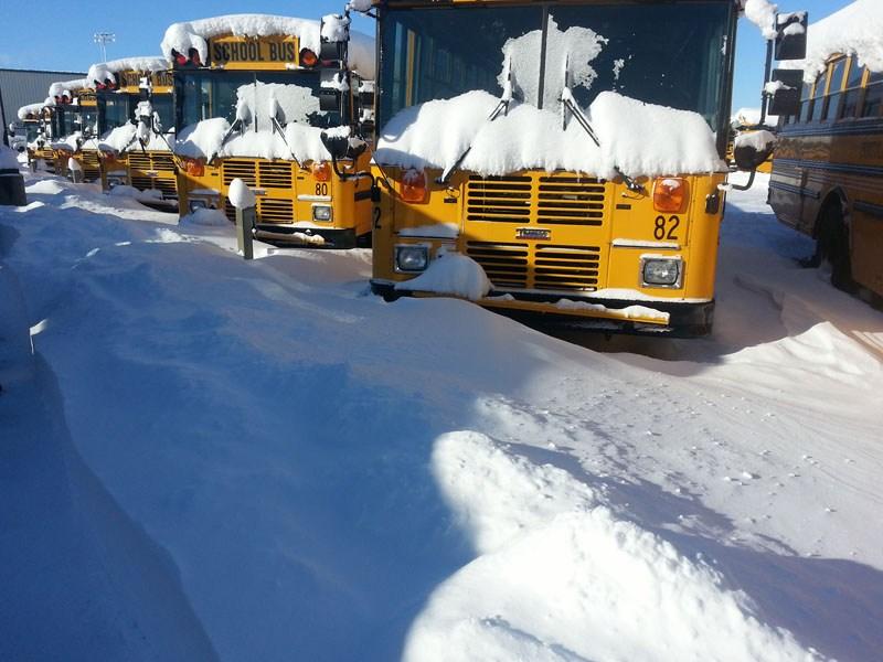 Snow at Transportation