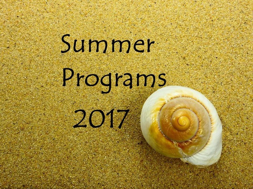 2017 Summer Programs