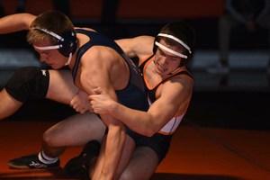 WVHS boys wrestler takes down his opponent