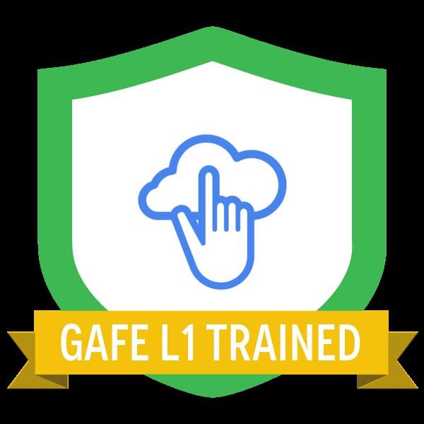 GAFE Level 1 Certification Badge