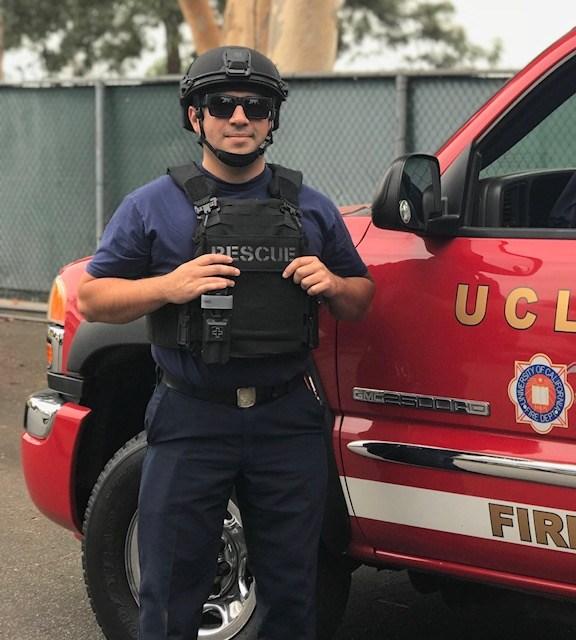 Daniel Solis Fire Fighter