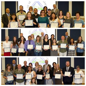 Employees and Board Members Holding Awards