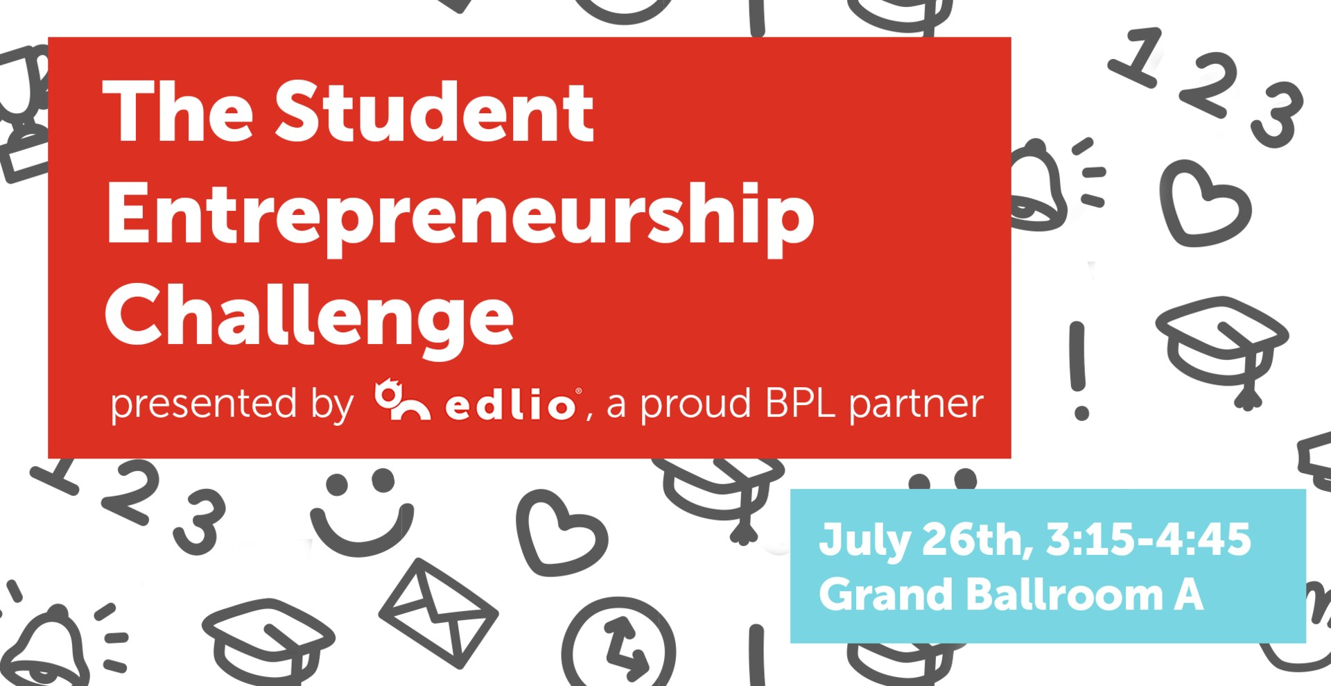 The Student Entrepreneurship Challenge banner