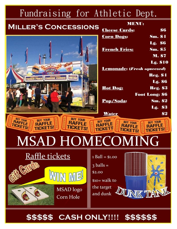 MSAD's Homecoming Weekend Thumbnail Image