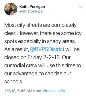 Feb 2 - Schools Closed