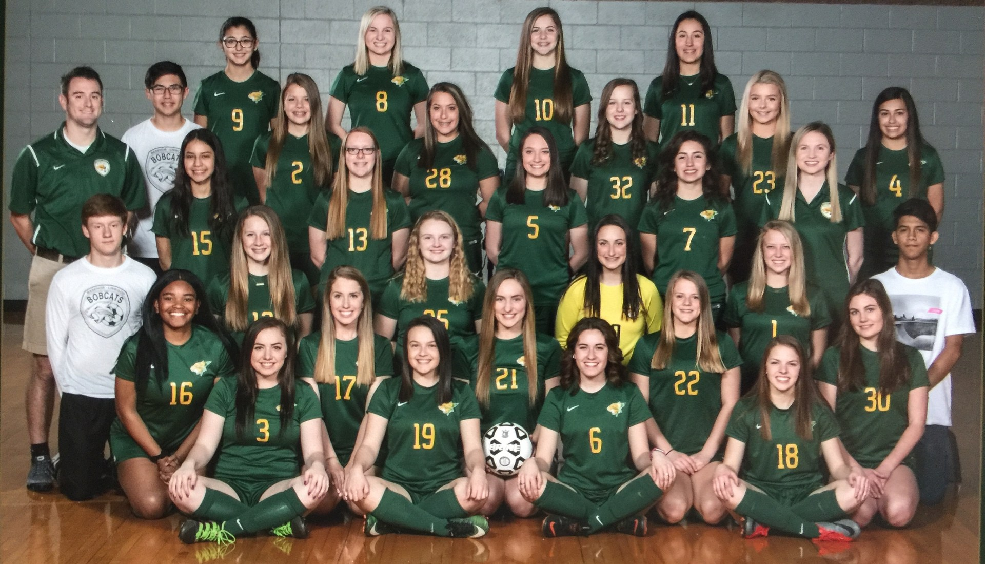 2018 Girls Team Photo