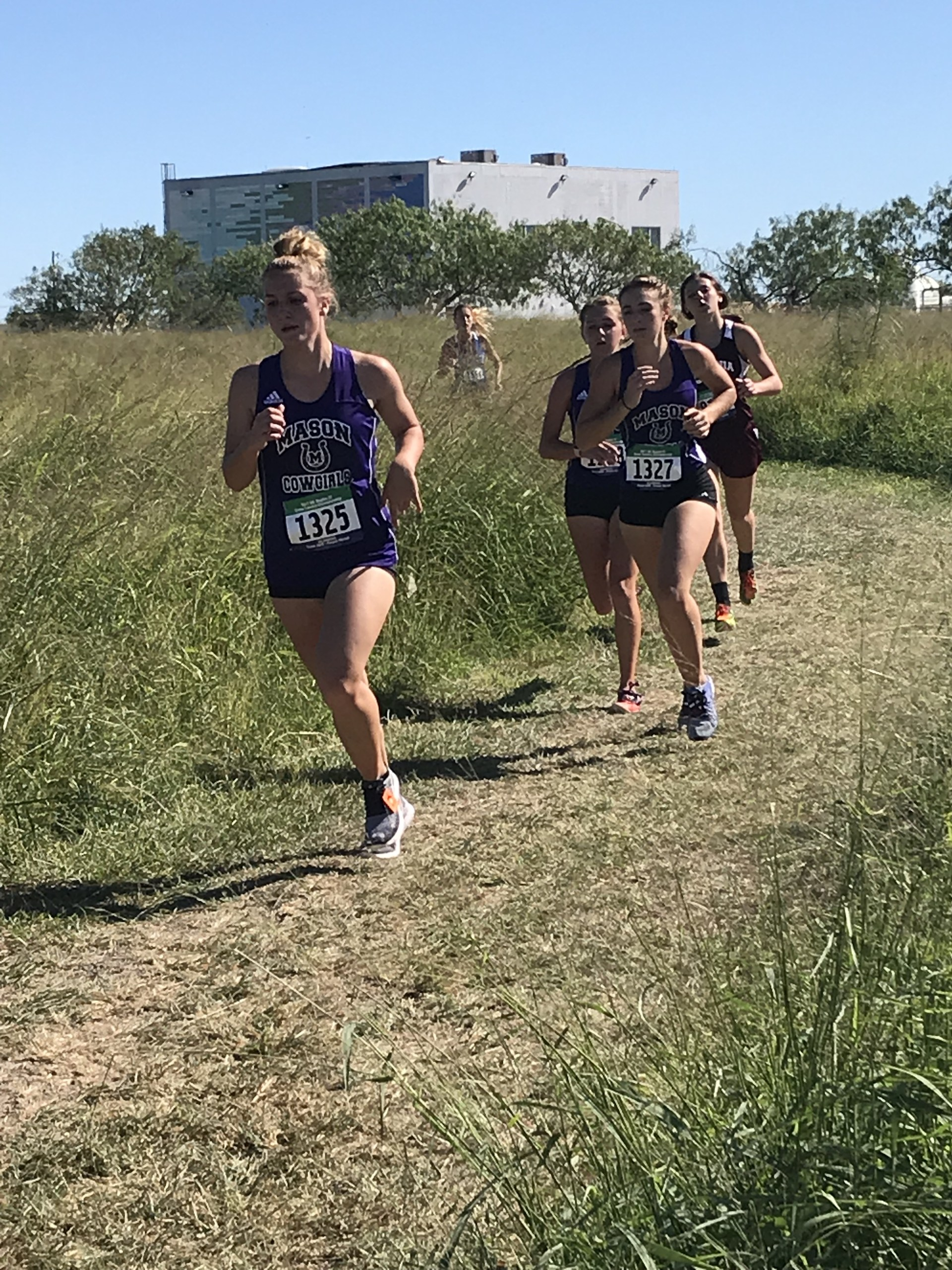 2017 Regional Cross Country Course - Presley, Ella, Peyton