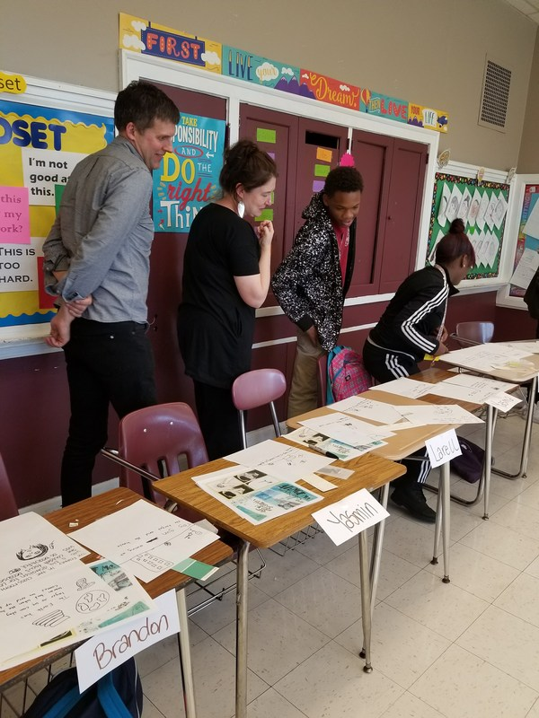 Award-winning Poet, Writer, and Professor Matthea Harvey Visits Gage Park High School Featured Photo