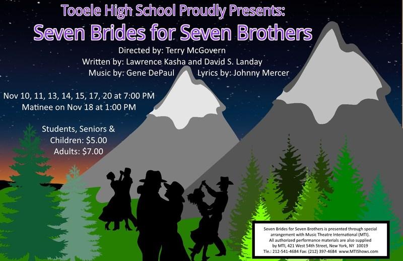 Seven Brides for Seven Brothers runs Nov 10-20, 2017 Thumbnail Image