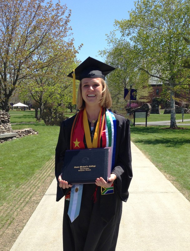 Lindsey Rogers'14 Named Valedictorian at Saint Michael's College Thumbnail Image