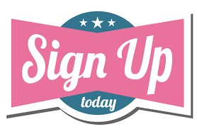 Sign Up Logo Displayed