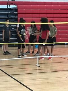 badminton practice