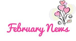 Pink Font - Feb. News clip art