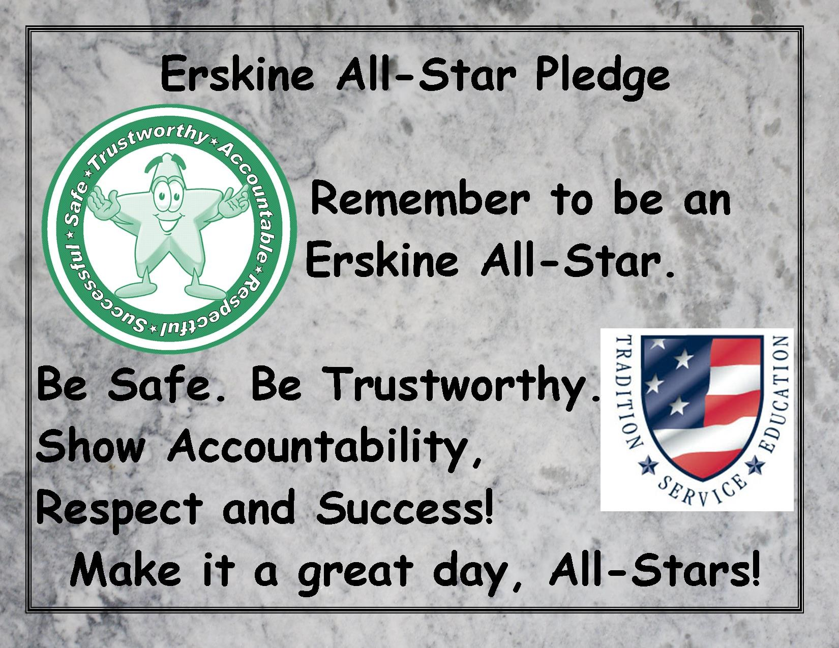 Erskine All-Star Pledge
