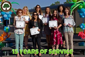 15 Years of Service Awards