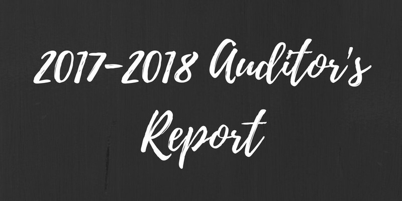 2017-2018 Auditor's Report Thumbnail Image