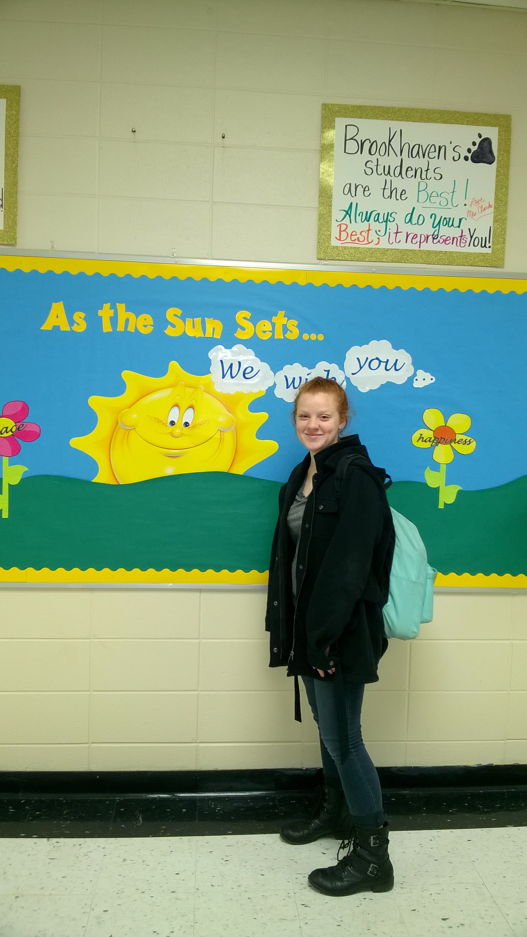 Student of the Month for February Image