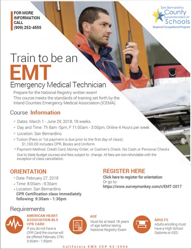 Train to be an EMT Thumbnail Image
