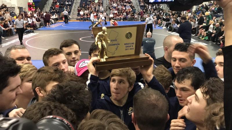 PJ senior Jake Rotunda hoists state title