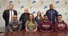 4 PJ athletes signs NLI