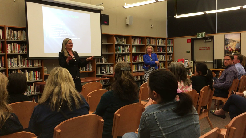 Leigh High School May 2nd accreditation meeting