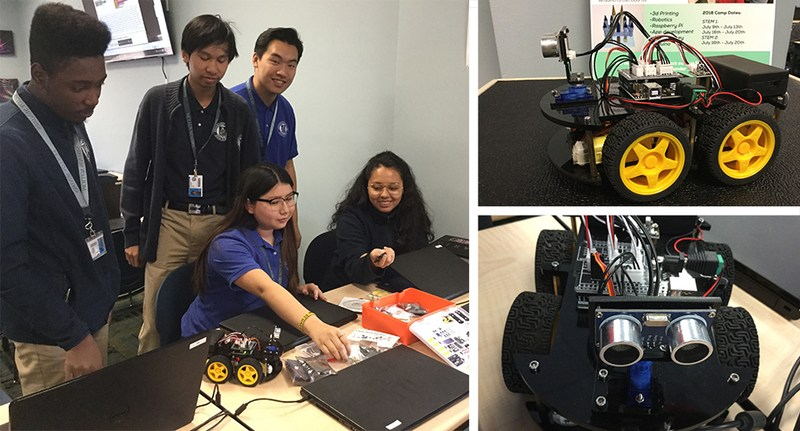Molloy Announces Plan for College Robotics Course Featured Photo