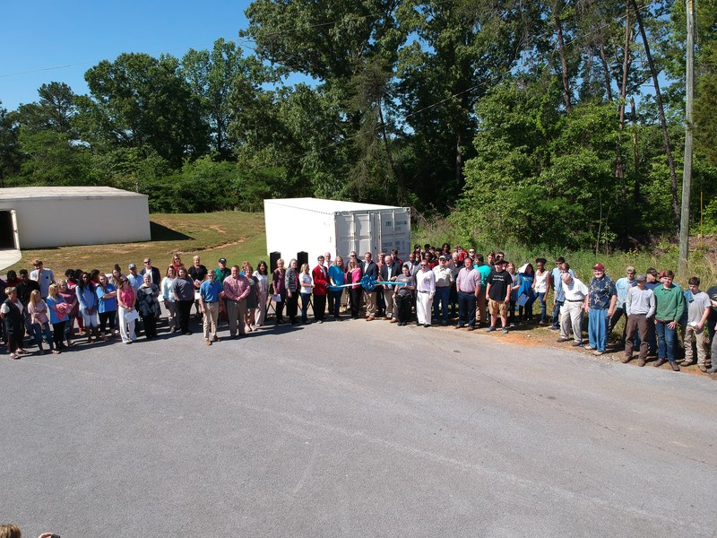 BCCA students complete transforming shipping container into vocational classroom. Featured Photo