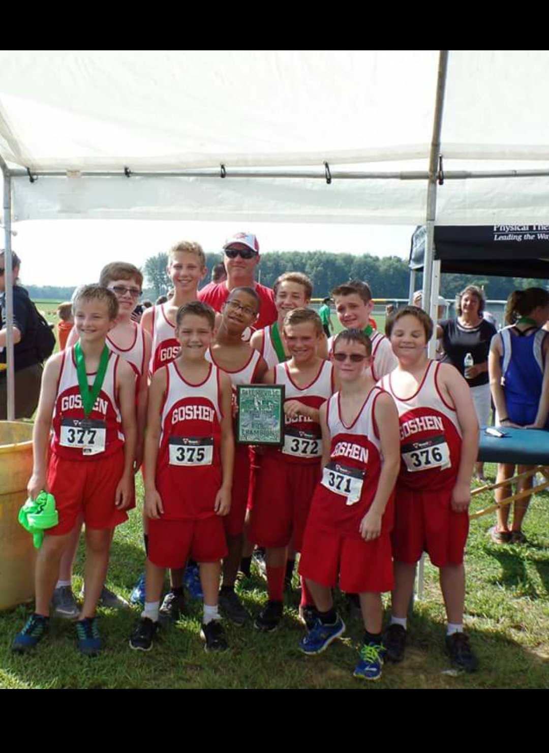 GMS cross country team