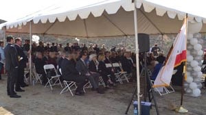Image of Audience at Castaic High School Groundbreaking Ceremony