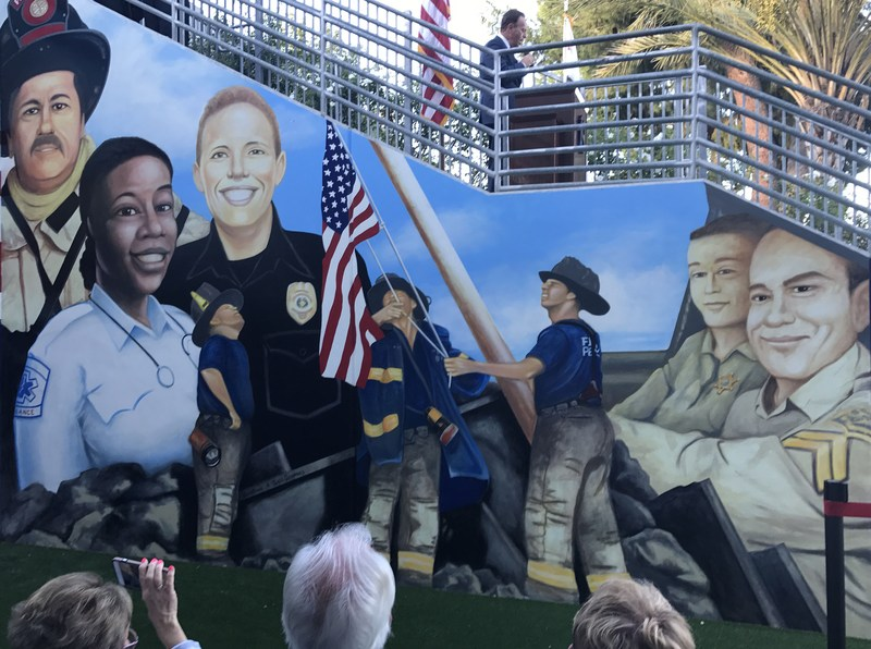 Saugus High School's 2nd Wall of Honor for alumni first responders