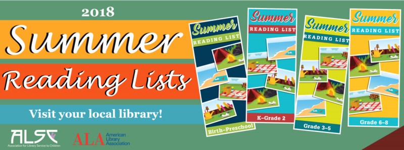 Summer Reading List-from ALSC: Association for Library Service to Children Thumbnail Image