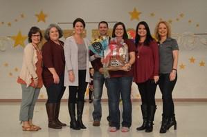 Krystal Franklin awarded FNE Teacher of the Year.
