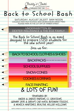 Chrissy's Closet Back to School Bash.png