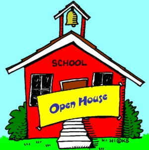 Picture of a red school house with an