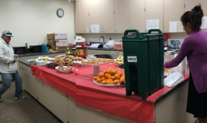 Breakfast! We love our PTSA!